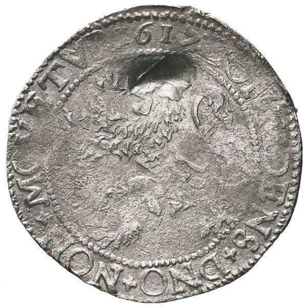 """Utrecht, United Netherlands, """"lion"""" daalder, 1617."""