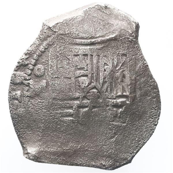 Mexico City, Mexico, cob 8 reales, Philip IV, P.