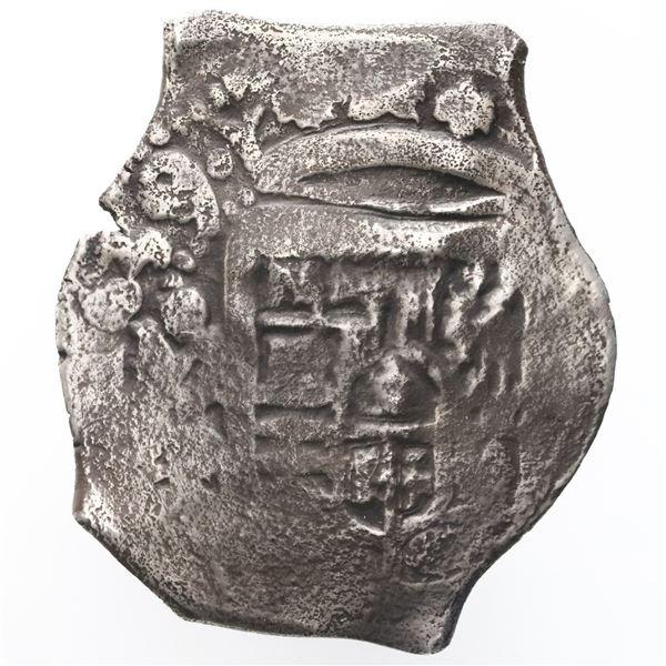 Mexico City, Mexico, cob 4 reales, 1639/8P, rare, ex-Christensen.