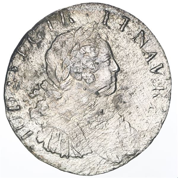 France (mint uncertain, probably Paris), ecu, Louis XV, date not visible (probably 1725-A).