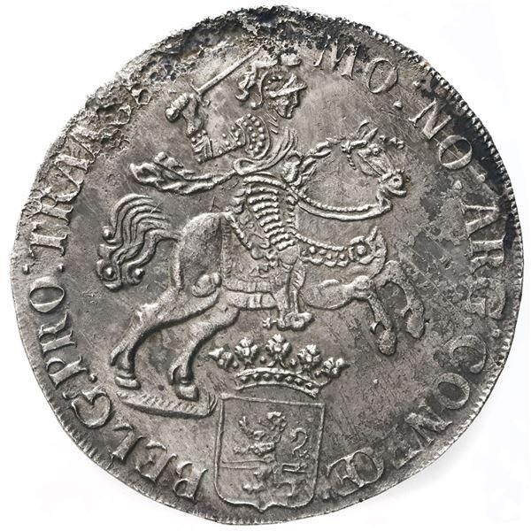 "Overijssel, United Netherlands, ""rider"" ducatoon, 1733."