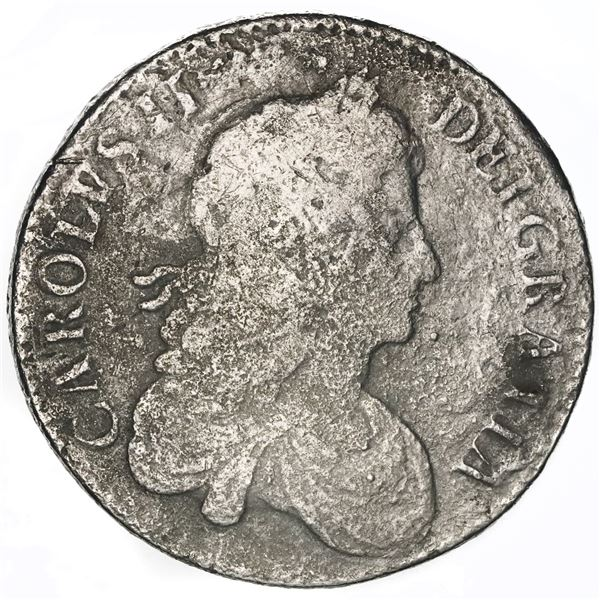 Great Britain (London, England), crown, Charles II, 1671 (second bust), ex-Sotheby's.