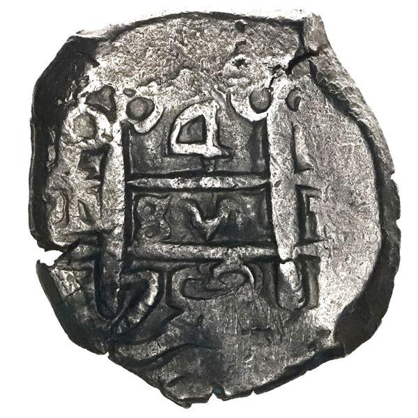 Potosi, Bolivia, cob 4 reales, 1752(E or q).