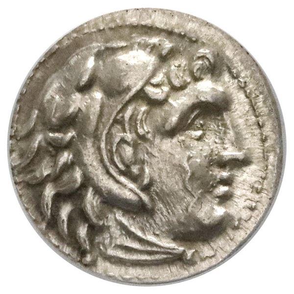 Kingdom of Macedon, AR drachm, Antigonos I Monophthalmos, as Strategos of Asia, in the name of Alexa