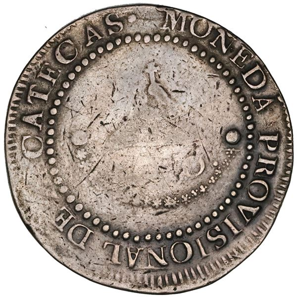 WITHDRAWN: Zacatecas, Mexico, 8 reales provisional, 1811-LVO, NGC VF details / tooled.
