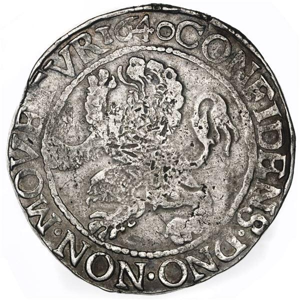 """Utrecht, United Netherlands, """"lion"""" daalder, 1640."""