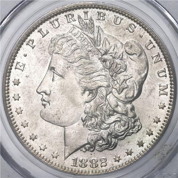 USA (New Orleans Mint), Morgan dollar, 1882-O/O, VAM-7, PCGS MS62.