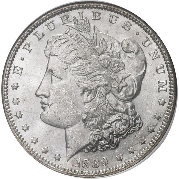 USA (Philadelphia Mint), Morgan dollar, 1889, NGC MS 64.
