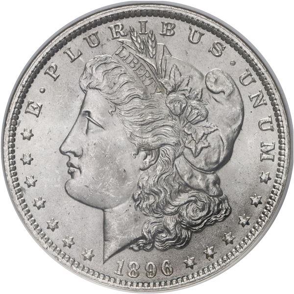 USA (Philadelphia Mint), Morgan dollar, 1896, NGC MS 64.