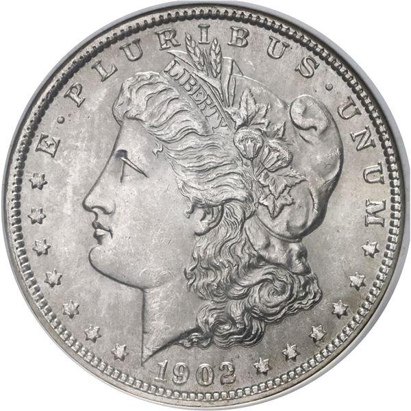 USA (New Orleans Mint), Morgan dollar, 1902-O, NGC MS 64.
