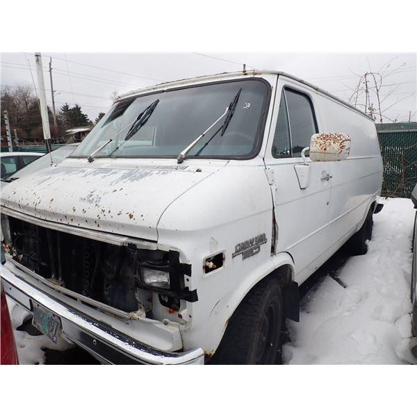 1985 Chevrolet G20 Van