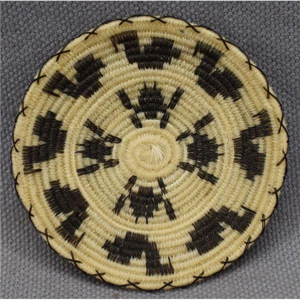 PAPAGO INDIAN HORSE HAIR BASKET