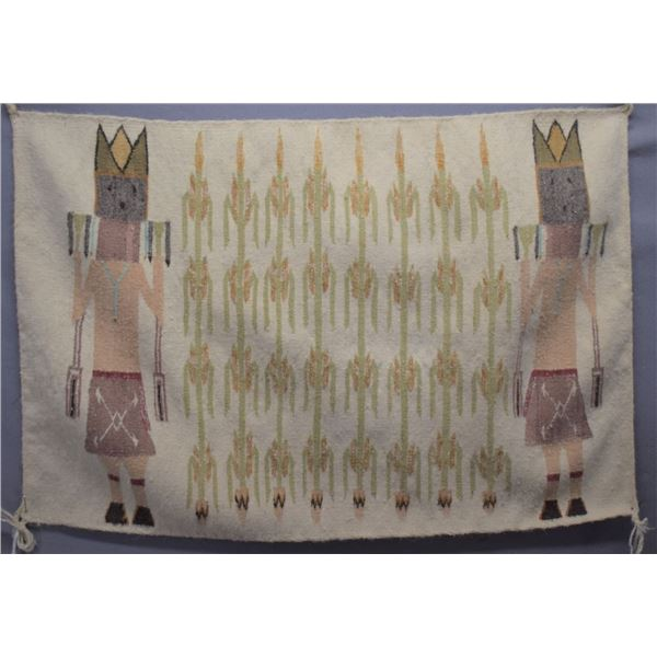 NAVAJO INDIAN TEXTILE (BETTY BIA)