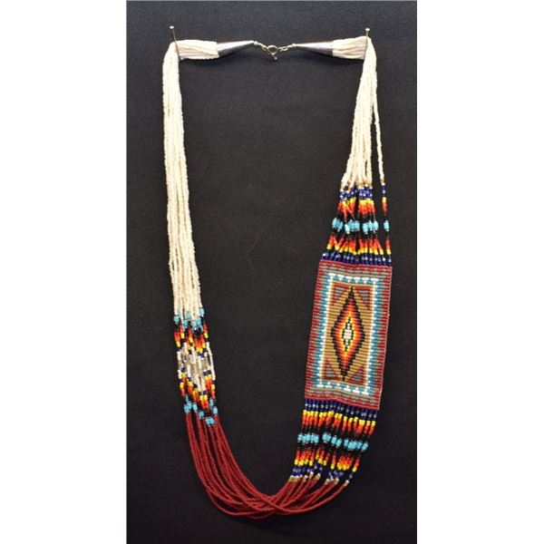NAVAJO INDIAN BEADED NECKLACE