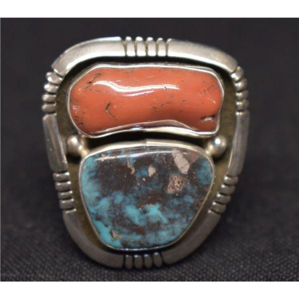 NAVAJO INDIAN RING (ED BEGAY)