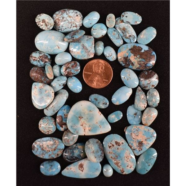 PERSIAN NATURAL TURQUOISE CABS