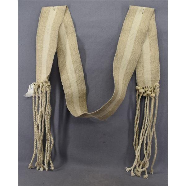 NAVAJO  INDIAN DANCE SASH (LEMUEL HARRISON)