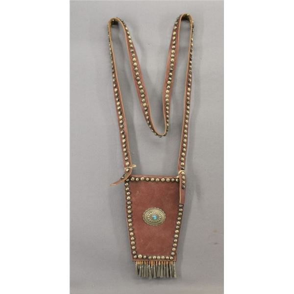NAVAJO INDIAN BANDOLIER BAG
