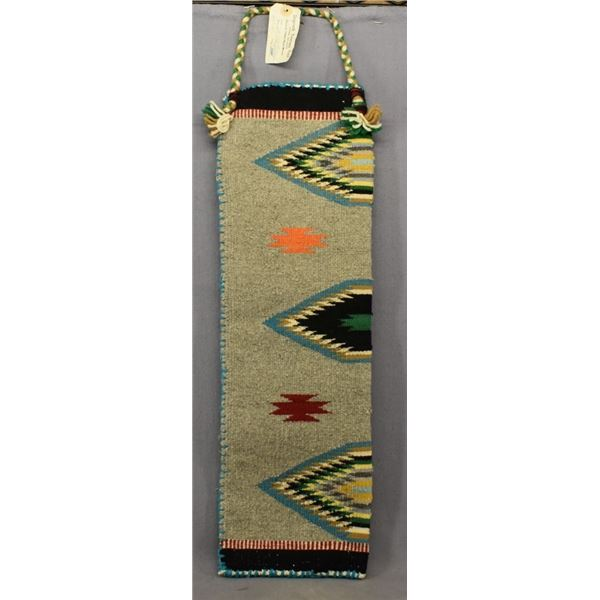 NAVAJO INDIAN TEXTILE BAG (ANNA TANNER)