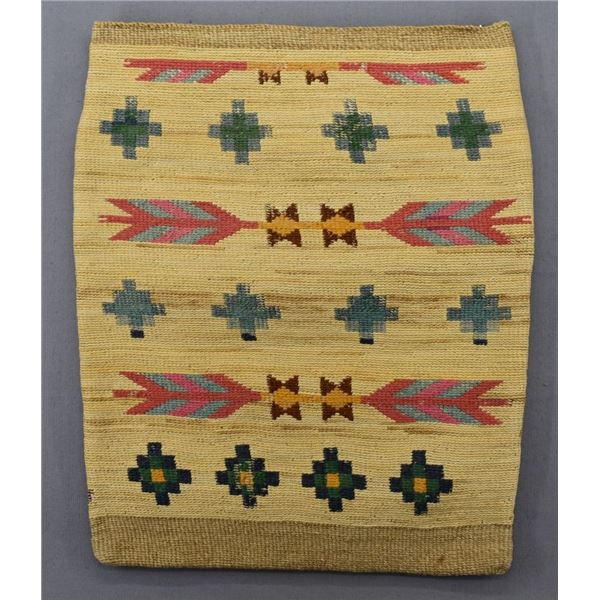NEZ PERCE INDIAN CORN HUSK BAG