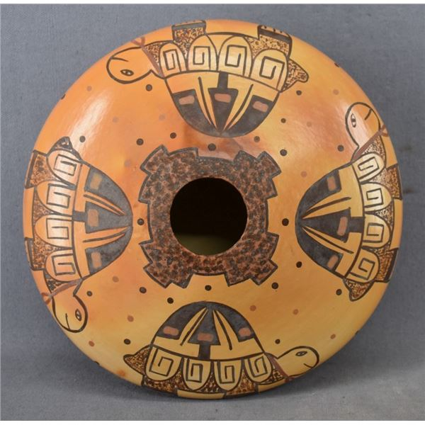 HOPI INDIAN POTTERY SEED JAR (DEE SETALLA)