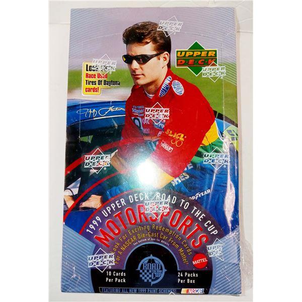 NEW SEALED BOX 1999 UPPER DECK NASCAR