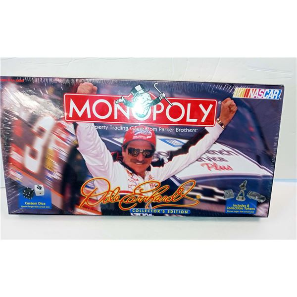 DALE EARNHARDT SEALED COLLECTORS MONOPOLY GAME