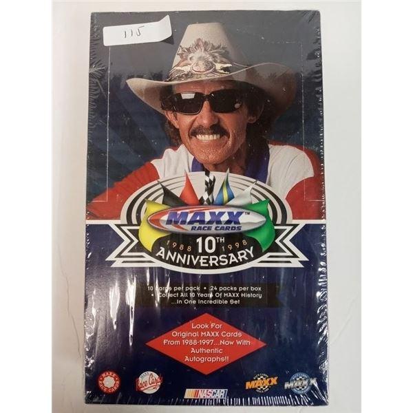 MAXX RACE CARDS 10TH ANNIVERSARY 1998 - 1998