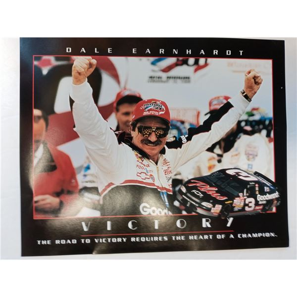 NEW SET OF THREE DALE EARNHART VICTORY LITHO PRINTS