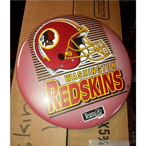 NEW SET OF 6 WASHINGTON REDSKINS LICENSED STANDING BUTTONS
