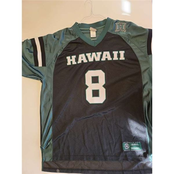 HAWAII COLLEGE FOOTBALL JERSEY