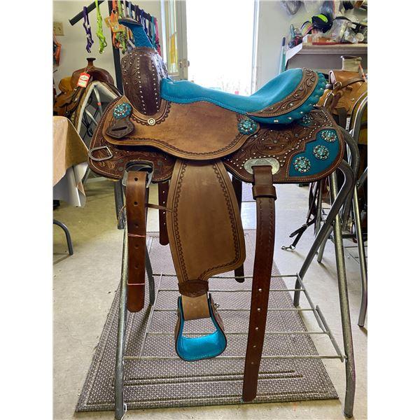 NEW, 13 INCH COWBOY SADDLE / $699.00