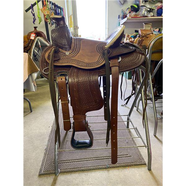 NEW, 13 INCH COWBOY SADDLE/ $699.00