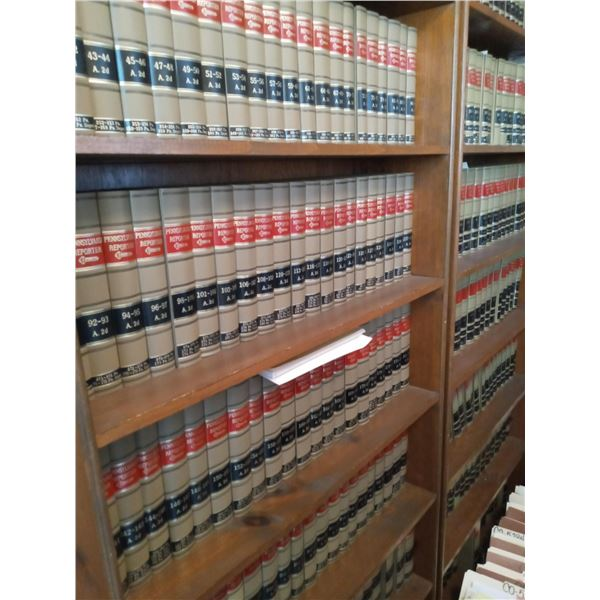 LAW BOOK LIBRARY EXCEL INVENTORY OF LOT 3L