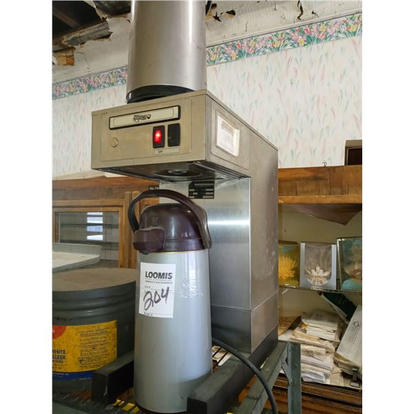 STANDARD COFFEE SERVICE UNIT W/ 2 PUMP POTS (LIGHTS UP)