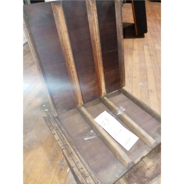 """HAND MADE, ANTIQUE WOOD LOAF COOLING PANS/TRAYS, VERY GOOD CONDITION, 18"""" X 20"""""""