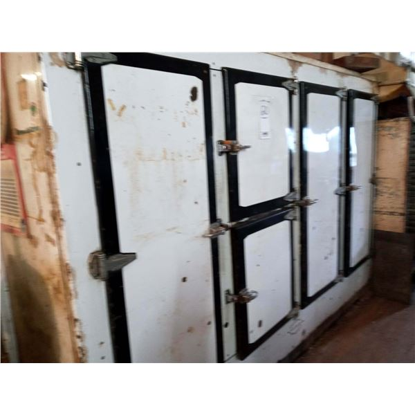FRIEDRICH 5 DOOR FLOATING AIR COMMERCIAL REFRIGERATOR