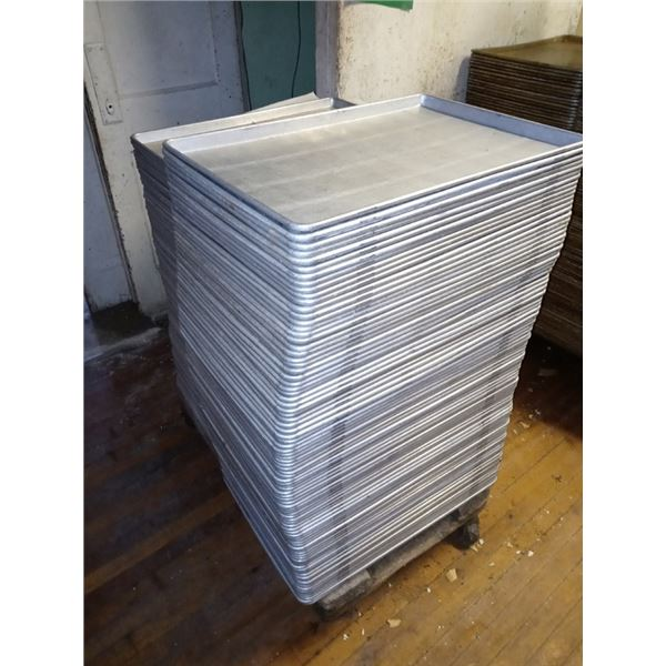 LARGE COMMERCIAL ALUMINUM  BAKING TRAYS