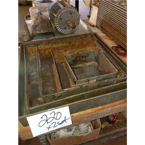 5PC SQUARE METAL BAKING PAN SET (2)