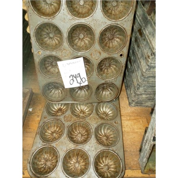 12 CAVITY FLUTED MUFFIN PAN (2)
