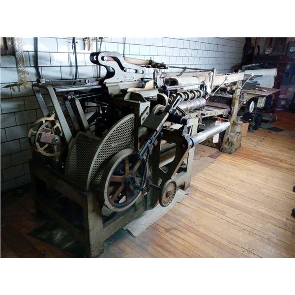 REOFFER:HAYSSEN BREAD WRAPPING MACHINE MODEL 5-15
