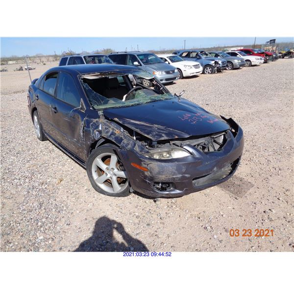 2007 - MAZDA 6/RESTORED SALVAGE