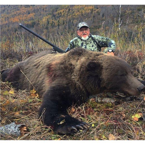 Alaska Brown Bear Special Permit Chugach State Park (SB470)