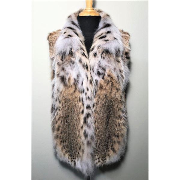 ALASKA FUR GALLERY: Ladies American Lynx Fur Vest