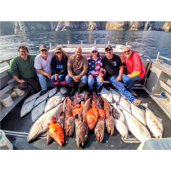 ALASKA FISHING ADVENT: 4-Day Fishing Adventure for Four Anglers in Alaska
