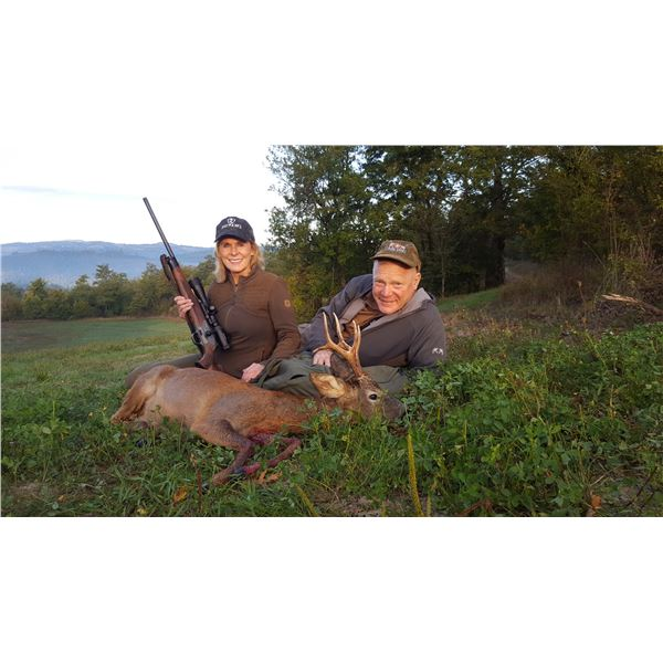 ITALIAN SAFARIS: 3-Day/4-Night Roe Deer Hunt for Two Hunters and Two Non-Hunters in Italy