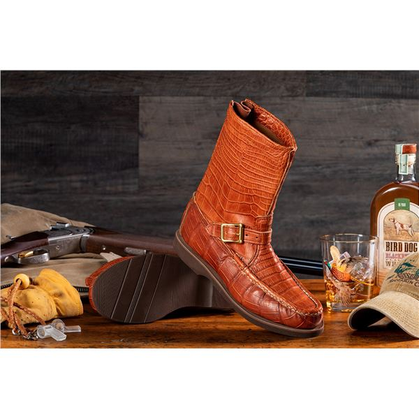 RUSSELL MOCCASIN: $2,000 CERTIFICATE For Classic All-Alligator Zephyr Boot