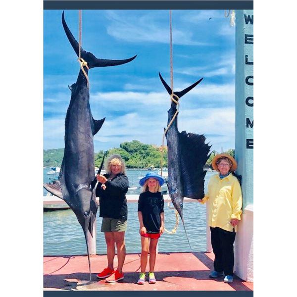 SHUNNESON & WILSON: 6-Day (4 Fishing Days) Fish Slamming Safari for One Angler in Zihuatanejo, Mexic