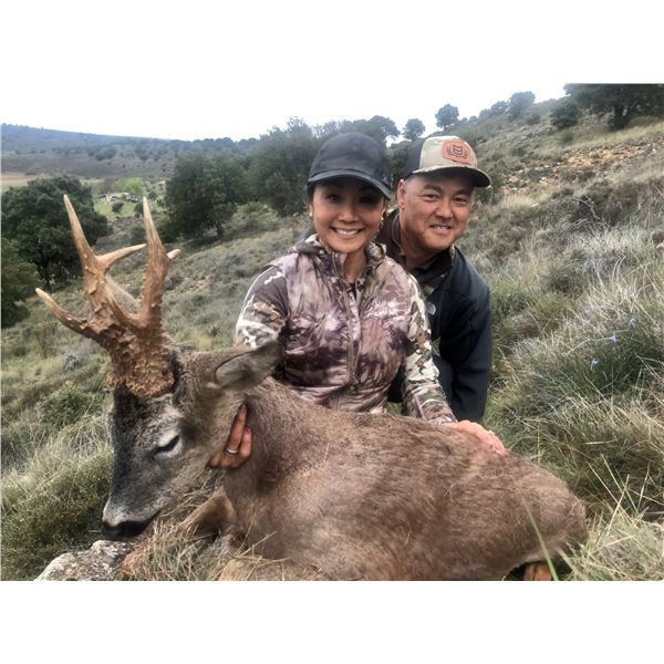 CAZATUR SPAIN: 5-Day Roe Deer Hunt for One Hunter and One Non-Hunter in Spain