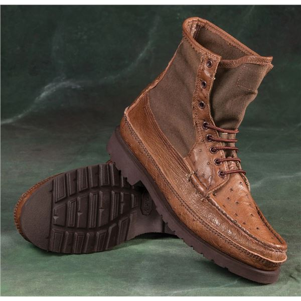 RUSSELL MOCCASIN: $500 CREDIT Towards Custom Pair of Russell Moccasin Boots or Shoes